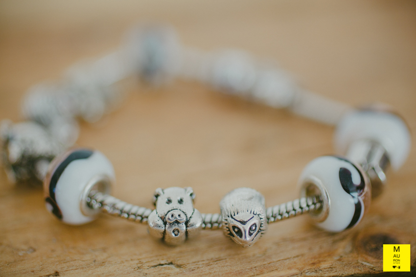 bracciale charms porcospino