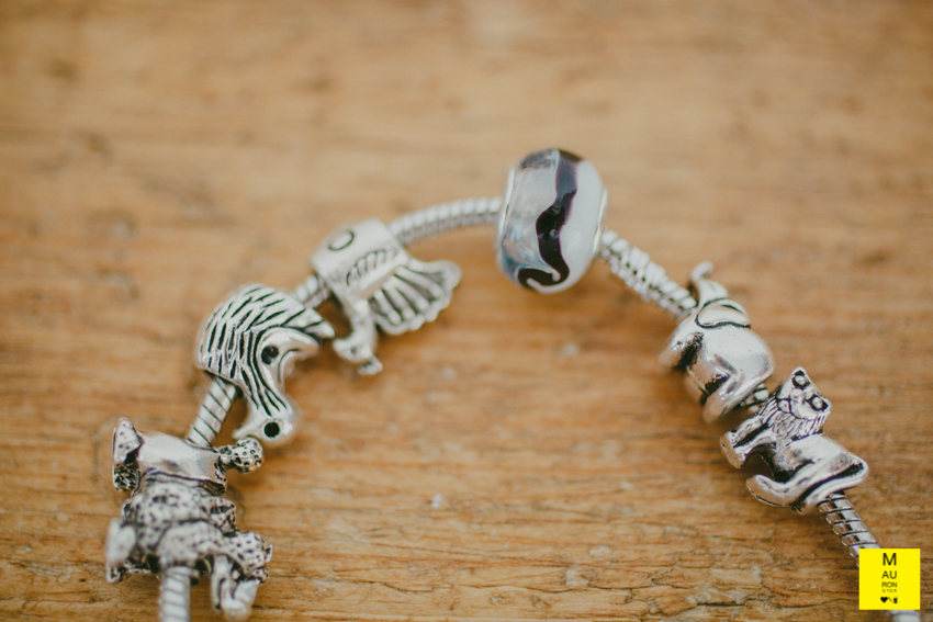 bracciale charms elefante